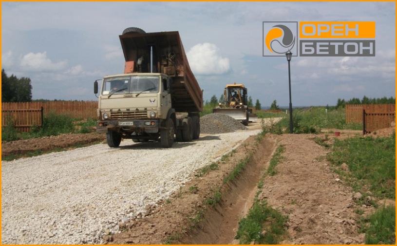 Приминение бетона В7,5 (М100), при сооружении дорожного полотна фото